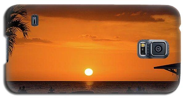 Sunset - St Pete Beach 2 Galaxy S5 Case