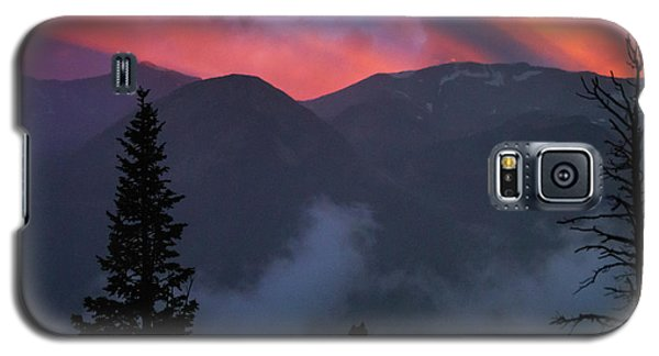 Sunset Storms Over The Rockies Galaxy S5 Case