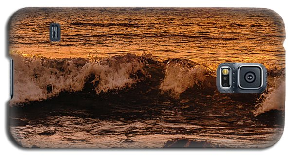 Sunset Wave Galaxy S5 Case