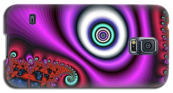 Super Hurricane Eye Magenta Galaxy S5 Case
