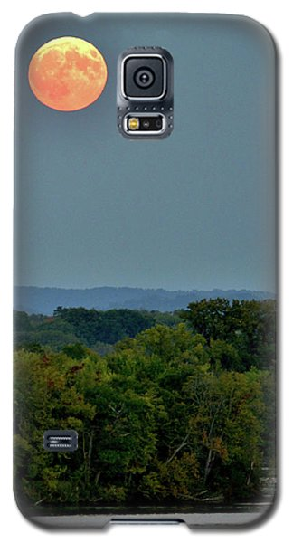 Supermoon On The Mississippi Galaxy S5 Case