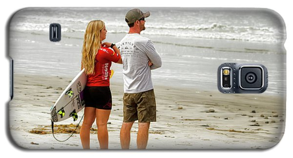 Surfer Girl Caroline Marks Galaxy S5 Case