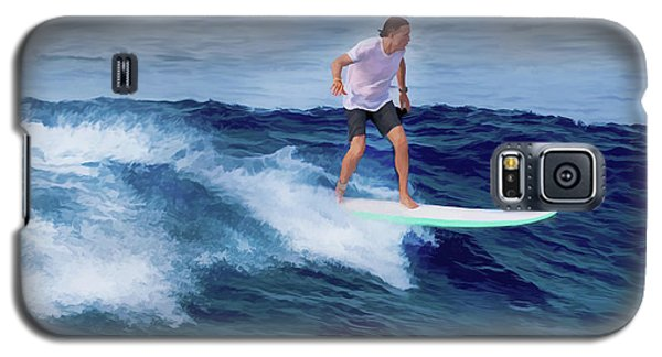 Surfing Andy Galaxy S5 Case