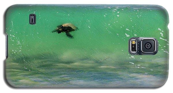 Surfing Turtle Galaxy S5 Case