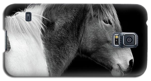 Susi Sole Portrait In Black And White Galaxy S5 Case
