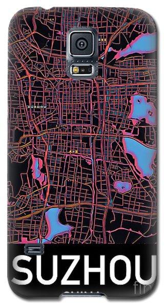 Suzhou City Map Galaxy S5 Case