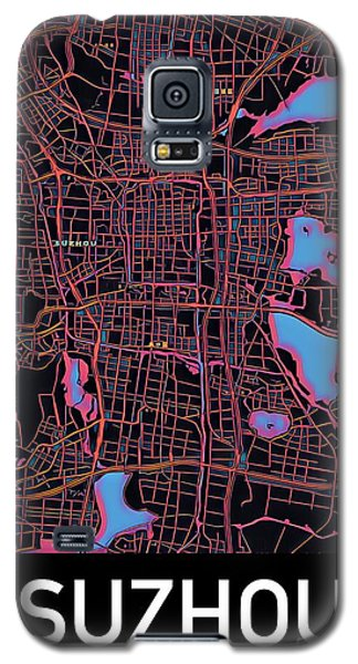 Suzhou City Map Galaxy S5 Case