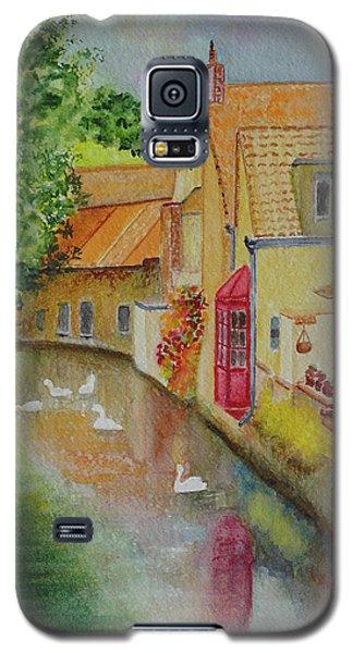 Swan Canal Galaxy S5 Case