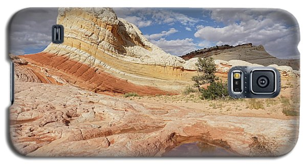 Sweeping Structures In Sandstone Galaxy S5 Case