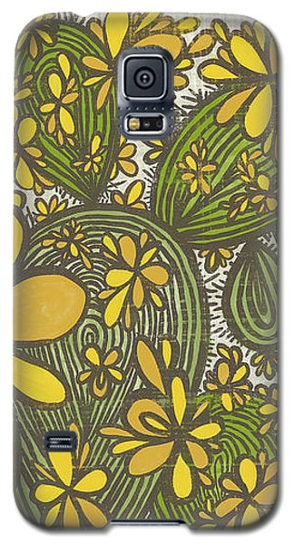 Sweet April Showers Do Bring May Flowers Thomas Tusser Quote Galaxy S5 Case