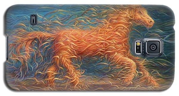 Swirly Horse 1 Galaxy S5 Case