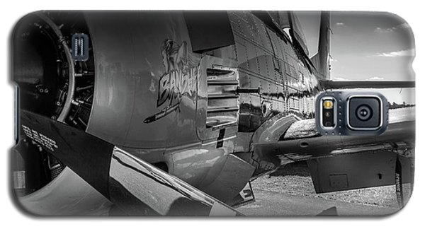T-28b Trojan In Bw Galaxy S5 Case