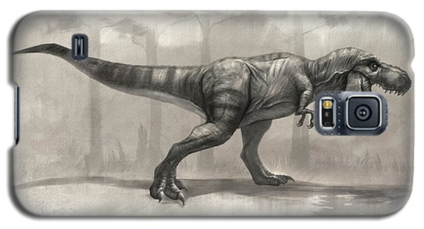 T-rex Drawing Galaxy S5 Case