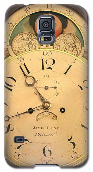 Tall Case Clock Face, Around 1816 Galaxy S5 Case