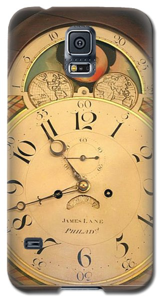 Tall Case Clock Face, Around 1816 Galaxy S5 Case