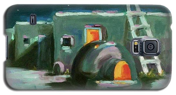 Taos At Night Galaxy S5 Case