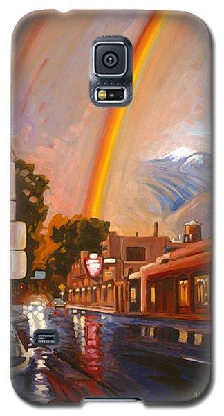 Taos Rainbow Galaxy S5 Case