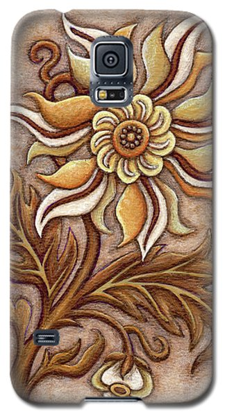 Tapestry Flower 1 Galaxy S5 Case