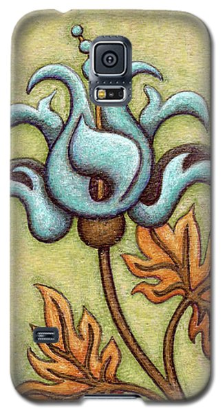 Tapestry Flower 2 Galaxy S5 Case