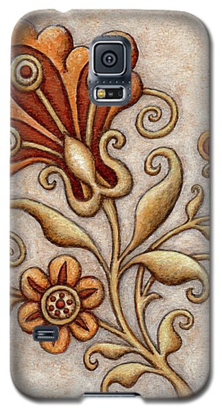 Tapestry Flower 3 Galaxy S5 Case
