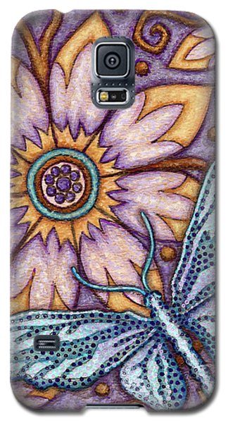 Tapestry Butterfly Galaxy S5 Case