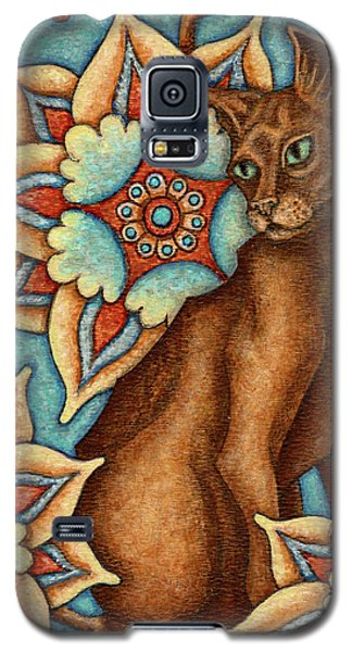Tapestry Cat Galaxy S5 Case