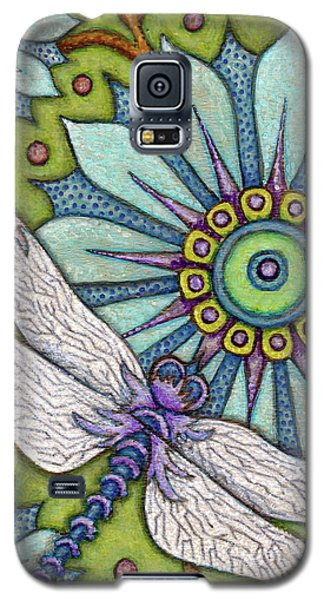 Tapestry Dragonfly Galaxy S5 Case