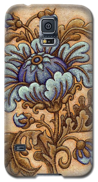 Tapestry Flower 5 Galaxy S5 Case