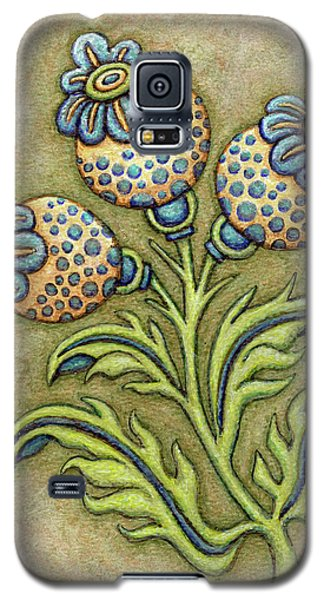 Tapestry Flower 6 Galaxy S5 Case