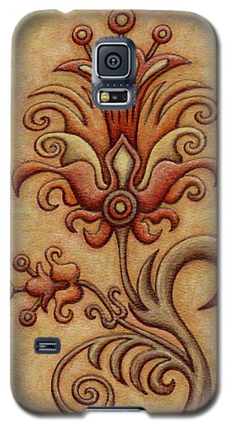 Tapestry Flower 7 Galaxy S5 Case