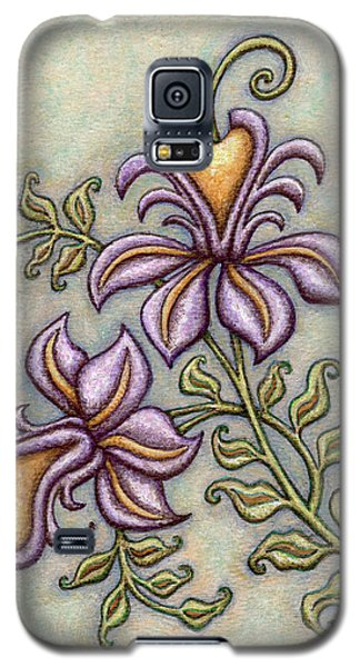 Tapestry Flower 8 Galaxy S5 Case