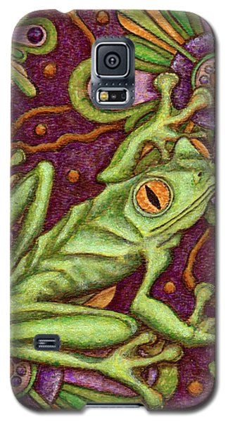 Tapestry Frog Galaxy S5 Case