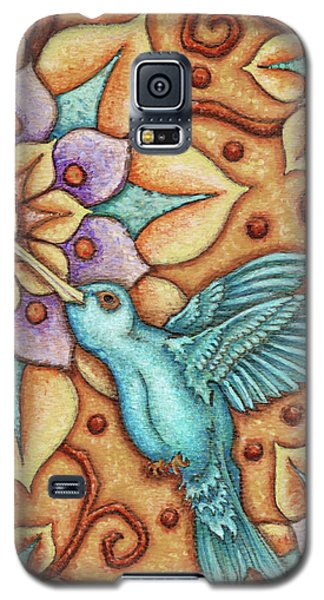 Tapestry Hummingbird Galaxy S5 Case