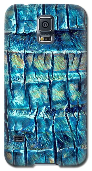 Teal Palm Bark Galaxy S5 Case