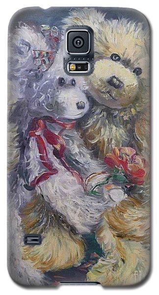 Teddy Bear Honeymooon Galaxy S5 Case