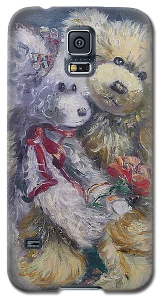 Teddy Bear Honeymooon Galaxy S5 Case