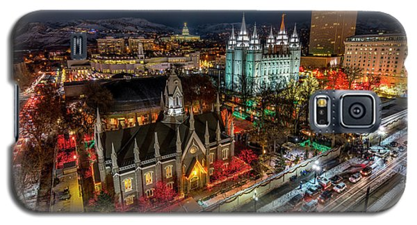Temple Square Lights Galaxy S5 Case
