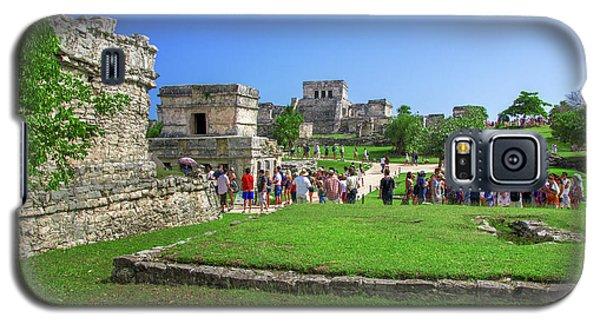 Temples Of Tulum Galaxy S5 Case