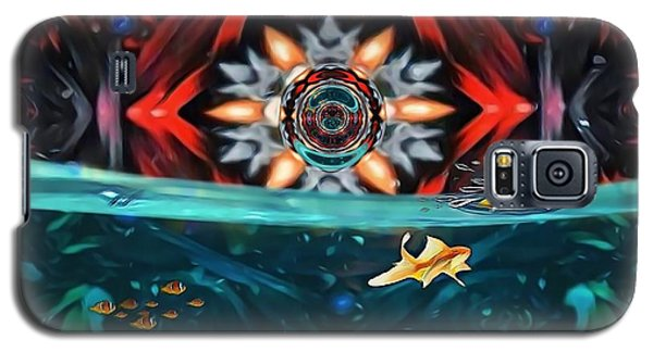 The Abstract Fish Tomb Galaxy S5 Case