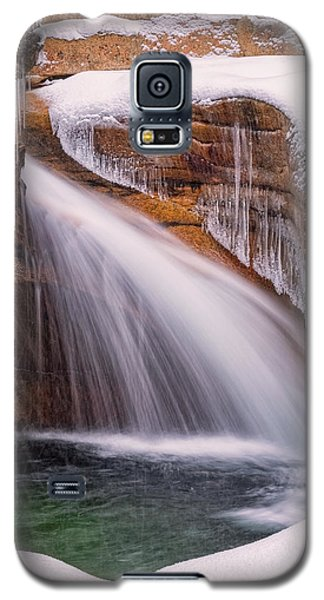 The Basin, Close Up In A Winter Storm Galaxy S5 Case