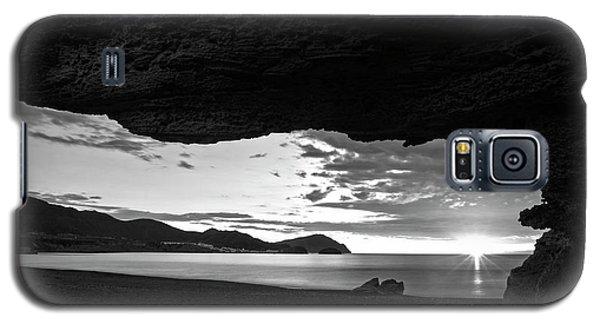 The Beach Of The Sculptures At Dawn In Almeria Galaxy S5 Case