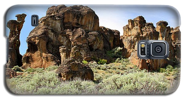 Arches Hoodoos And Castles The Big Picture Little City Of Rocks Galaxy S5 Case