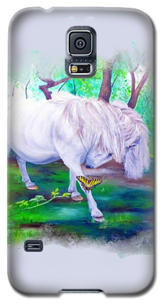 The Butterfly And The Pony Galaxy S5 Case