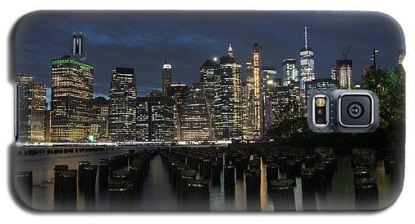 The City Alight Galaxy S5 Case