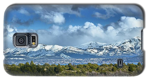 The City Of Bariloche Surrounded By Mountains Galaxy S5 Case