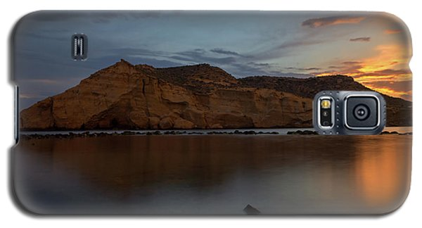 The Closed Cove In Aguilas At Sunset, Murcia Galaxy S5 Case
