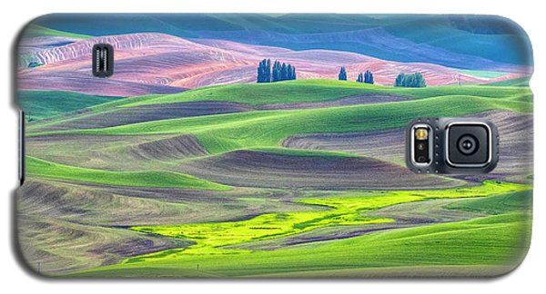 The Color Palette Of The Palouse Galaxy S5 Case
