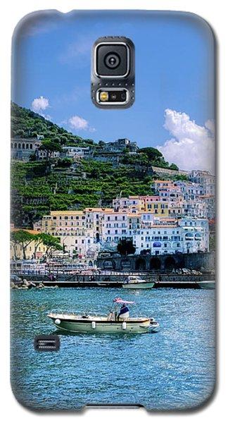 The Colorful Amalfi Coast  Galaxy S5 Case