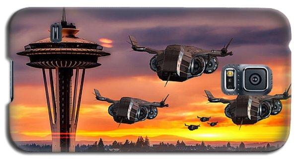 The Evening Commute Galaxy S5 Case