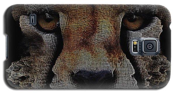 The Face Of A Cheetah Galaxy S5 Case